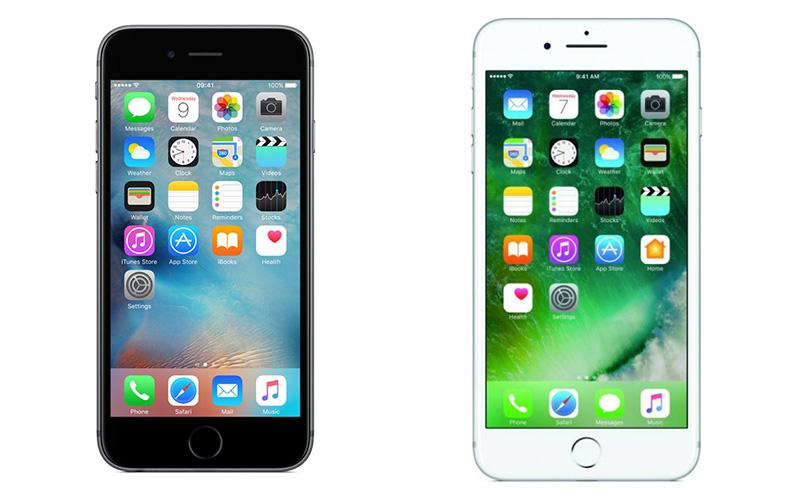 Apple iPhone 6s vs Apple iPhone 7